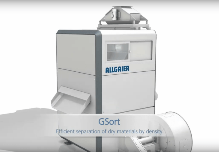 Allgaier GSort Maximize your separation quality. Minimize your costs.