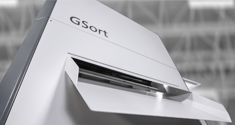 GSort – Separación seca de materiales por densidad a bajo coste