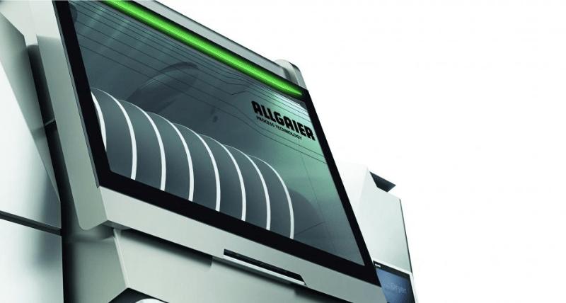 ALLGAIER CDry Secadero de contacto para suspensiones y soluciones
