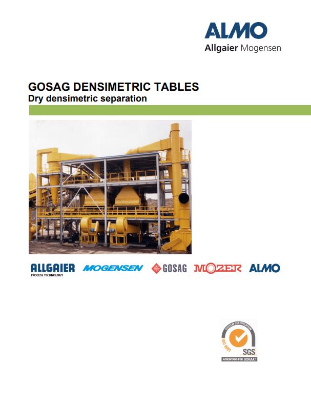 densimetric tables