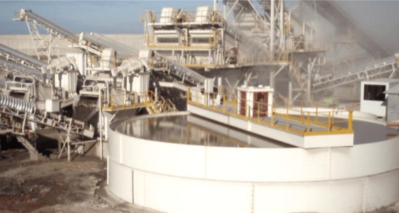 Tecnología y sostenibilidad para el lavado de arenas