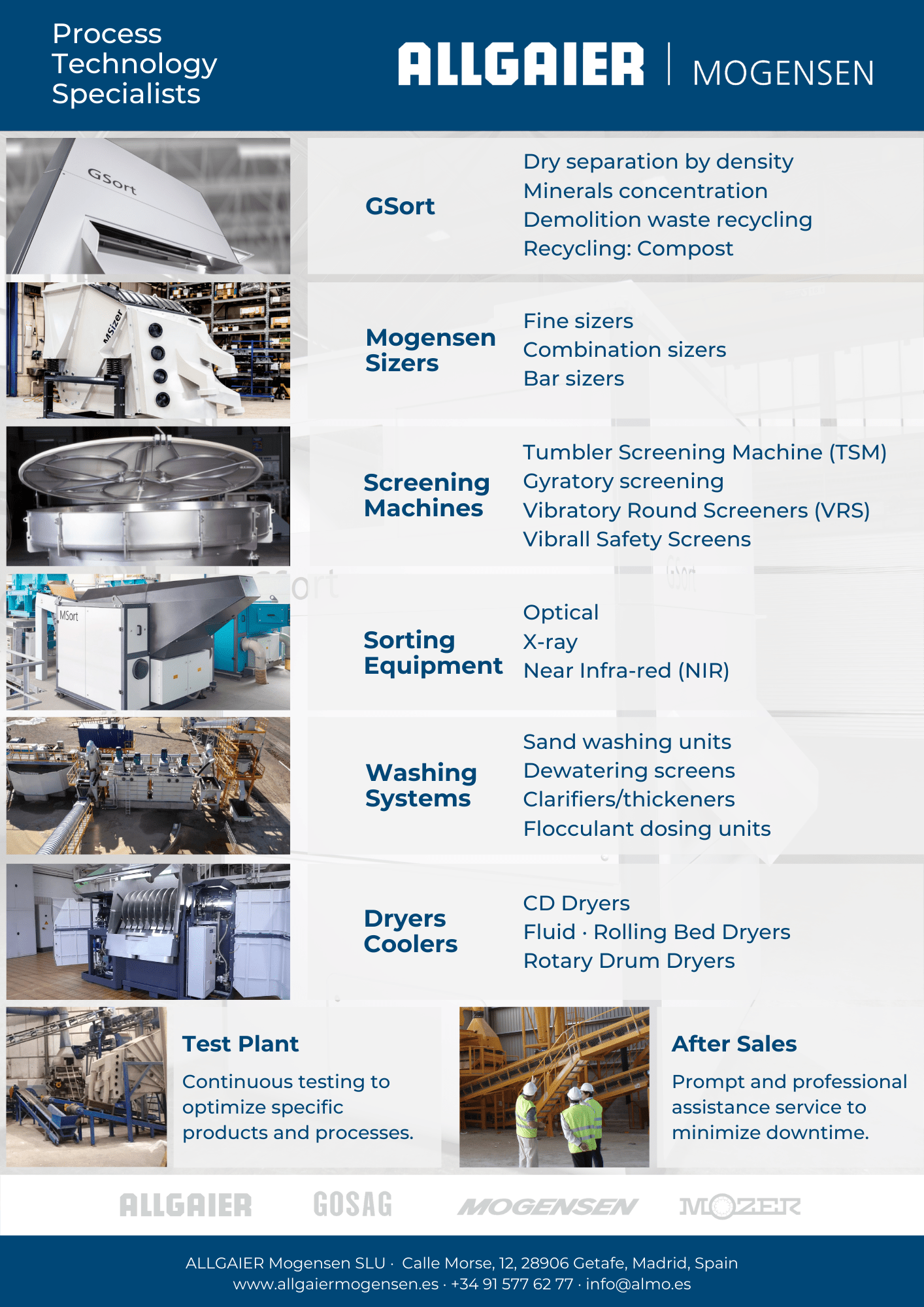 Products & Services Flyer